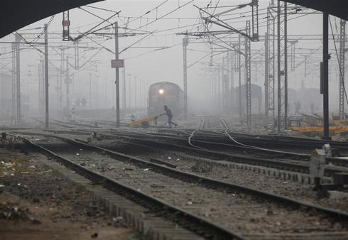 Cold spell grips north India