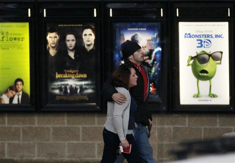 Aurora movie theater reopens
