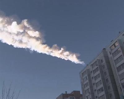 Meteorite hits Russia