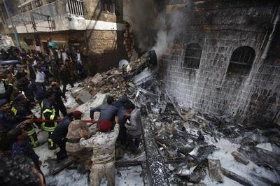 Plane crash in Yemen