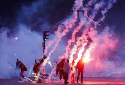 Clashes in Paris