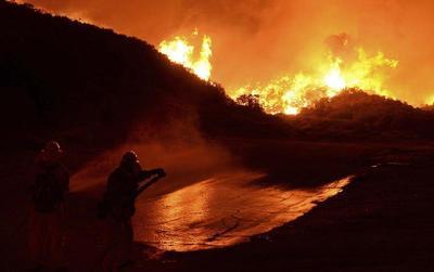 Powerhouse wildfire