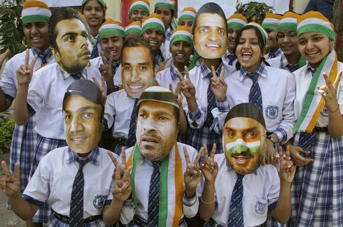 India masked