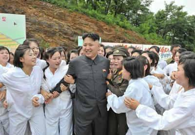 Kim Jong-un on tour