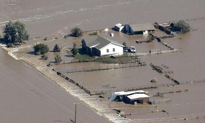 Colorado floods from above