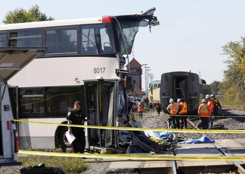 Ottawa train collision