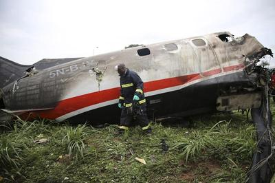 Plane crash in Lagos