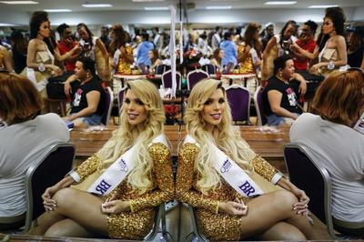 Transgender beauty pageant