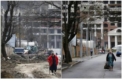 Sochi: Then and now