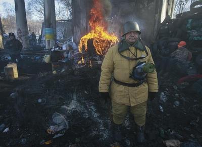 The barricades of Kiev