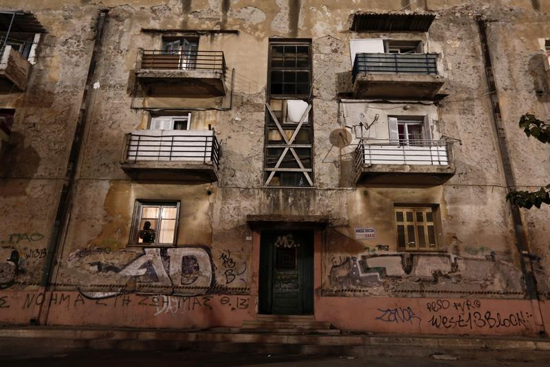 Ghost buildings of Athens
