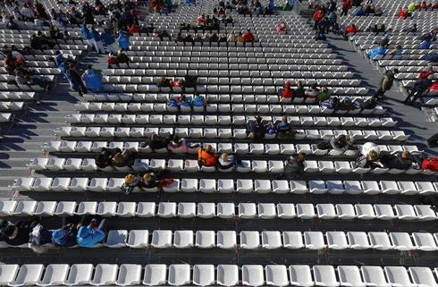Empty seats in Sochi