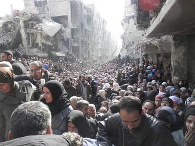 Shortages in Syria