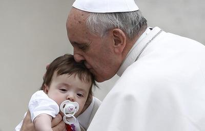 Children and the Pope