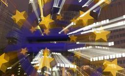 Les dirigeants européens ne sont pas parvenus mercredi à aplanir leurs divergences dans le dossier de la régulation du secteur bancaire, tout particulièrement sur la question du démantèlement des établissements en faillite. /Photo d'archives/REUTERS/Kai Pfaffenbach