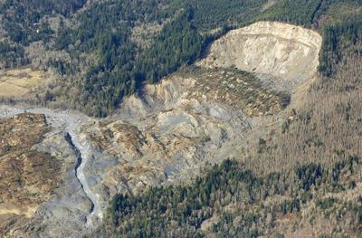 Mudslide from above