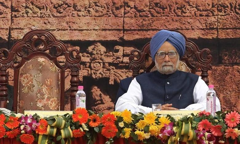 Prime Minister Manmohan Singh attends the inauguration ceremony of the Indian Museum in Kolkata February 2, 2014. REUTERS/Rupak De Chowdhuri/Files