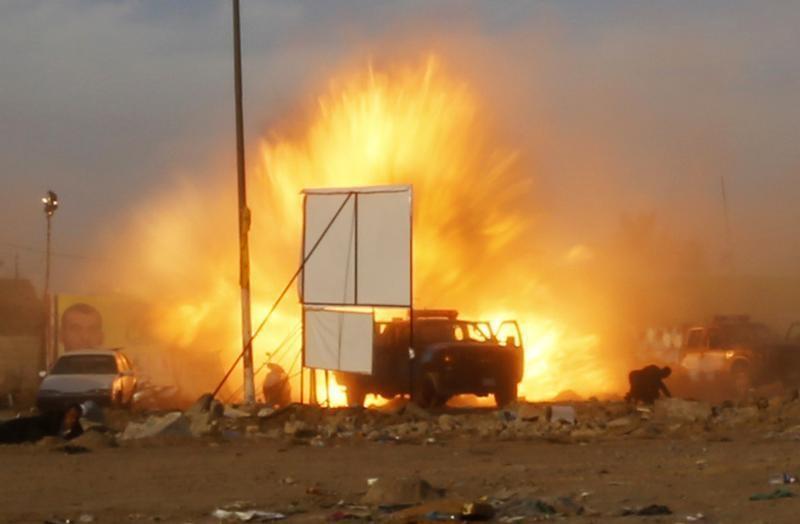 Explosions in Baghdad