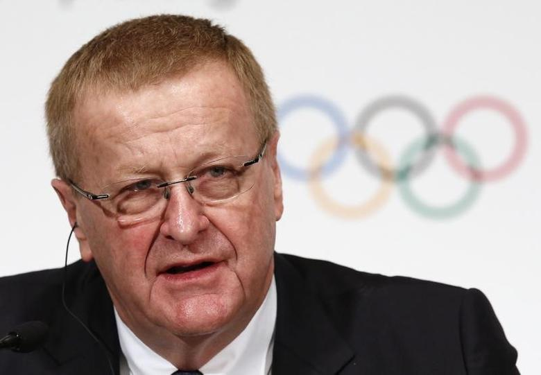 John Coates, International Olympic Committee (IOC) Vice President and Chairman of the Coordination Commission for the Games of the XXXII Olympiad - Tokyo 2020, attends a news conference in Tokyo November 20, 2013. REUTERS/Issei Kato