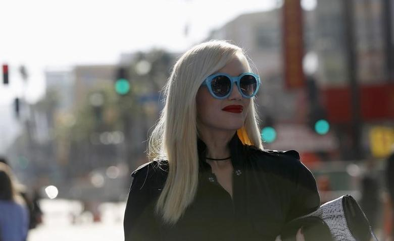 Musician Gwen Stefani arrives at the premiere of the film ''Monsters University'' at El Capitan theatre in Hollywood, California June 17, 2013.  REUTERS/Mario Anzuoni