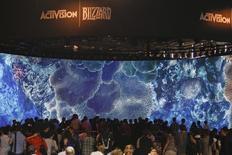 """Activision Blizzard compte consacrer un demi-milliard de dollars à la création et à la promotion de """"Destiny"""", ce qui serait apparemment un record pour un éditeur de jeux vidéo qui espère ainsi voir naître un nouveau """"blockbuster"""". /Photo d'archives/REUTERS/Ina Fassbender"""