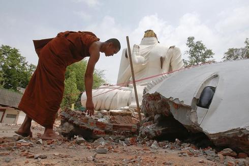 Quake hits northern Thailand