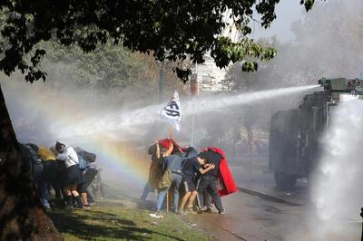Clashes in Chile