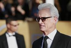 "Actor John Slattery, from the series ""Mad Men,"" arrives at the 19th annual Screen Actors Guild Awards in Los Angeles, California January 27, 2013.  REUTERS/Adrees Latif"