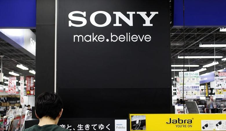 A logo of Sony Corp is pictured at an electronic store in Tokyo May 14, 2014.   REUTERS/Toru Hanai