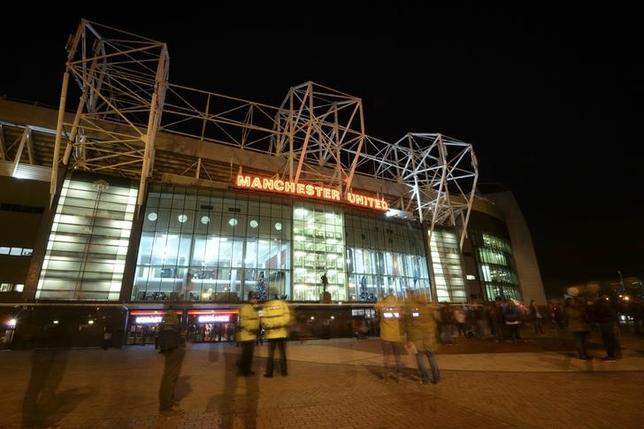 Manchester United Old Trafford stadium is pictured ahead of their English Premier League soccer match against Everton in Manchester, northern England, December 4, 2013 file photo. REUTERS/Nigel Roddis