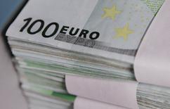 Les résultats publiés jusqu'à présent au titre du premier trimestre 2014 par les entreprises européennes déçoivent les gérants et analystes interrogés par Reuters, mais ces publications, restées affectées par les changes, reflètent la situation économique mondiale. /Photo d'archives/REUTERS/Thierry Roge