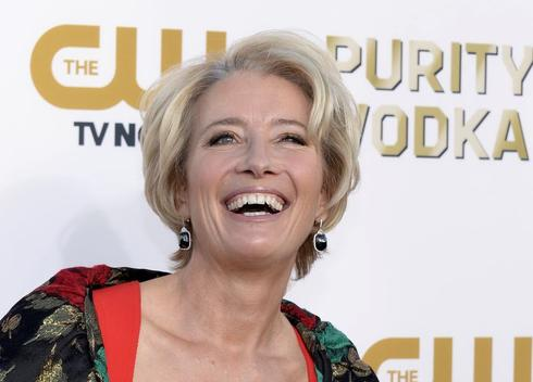 A Minute With: Emma Thompson on comedy, bathing suits and success