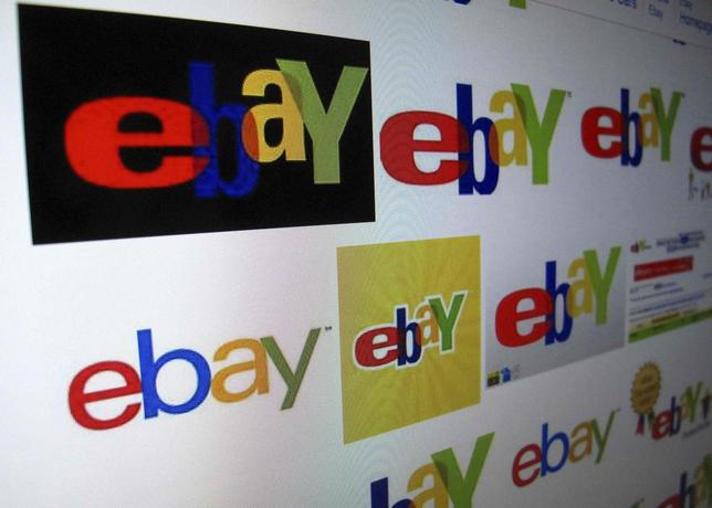 The results of a Google image search on Ebay are shown on a monitor in this photo illustration in Encinitas, California, April 16, 2013. REUTERS/Mike Blake /Files