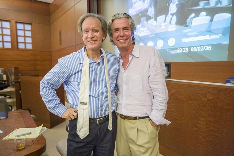 PIMCO's Bill Gross and Paul McCulley in a picture taken early May in Newport Beach, California.  REUTERS/PIMCO