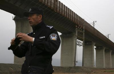 China shrugs off security concerns on new link to...