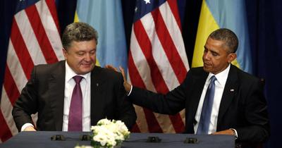 Obama gives backing to Ukraine's new president