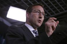 Canada's Justice Minister Peter MacKay speaks during a news conference on Parliament Hill in Ottawa June 4, 2014. REUTERS/Chris Wattie