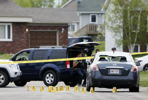 Manhunt in Moncton