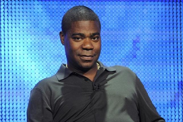 Writer and executive producer Tracy Morgan participates in the panel for the comedy special ''Tracy Morgan: Black and Blue'' during the HBO summer Television Critics Association press tour in Beverly Hills, California August 7, 2010. REUTERS/Phil McCarten