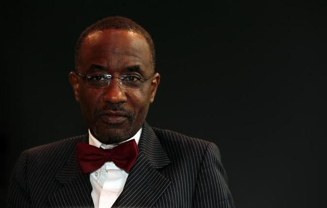 Nigeria's central bank governor Sanusi Lamido Sanusi attends an interview with Reuters at the World Islamic Economic Forum in London October 30, 2013.    REUTERS/Stefan Wermuth