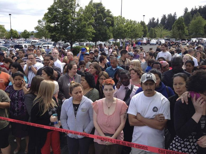 One student, gunman dead after Oregon high school...