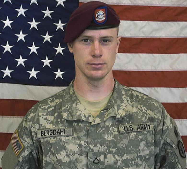 U.S. Army Sergeant Bowe Berghdal is pictured in this undated handout photo provided by the U.S. Army and received by Reuters on May 31, 2014. REUTERS/U.S. Army/Handout via Reuters