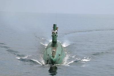Inside a North Korean submarine