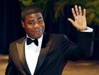 "Comedian Tracy  Morgan from the television series ""30 Rock"" arrives at the White House Correspondents' Association dinner in Washington May 1, 2010. REUTERS/Richard Clement"