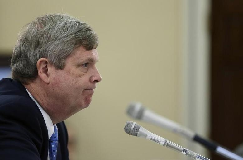 United States Secretary of Agriculture Tom Vilsack testifies before a House Appropriations Subcommittee in Washington March 14, 2014. REUTERS/Gary Cameron