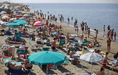 Italy's beaches: open for business but closed to...