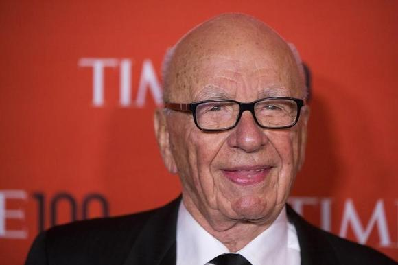 Rupert Murdoch arrives at the Time 100 gala celebrating the magazine's naming of the 100 most influential people in the world for the past year, in New York April 29, 2014. REUTERS/Lucas Jackson/Files