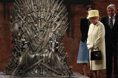 Queen visits Game of Thrones set