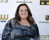 Actress Melissa McCarthy arrives at the 19th annual Critics' Choice Movie Awards in Santa Monica, California January 16, 2014.    REUTERS/Kevork Djansezian