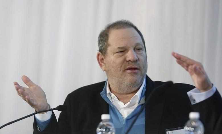 Harvey Weinstein, Co-Chairman of The Weinstein Company, speaks at the UBS 40th Annual Global Media and Communications Conference in New York December 5, 2012.    REUTERS/Carlo Allegri